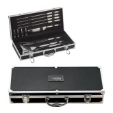 Grill Master Set-Cardinal Head UIW Engraved