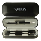 Black Roadster Gift Set-Cardinal Head UIW Engraved