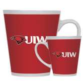 Full Color Latte Mug 12oz-Cardinal Head UIW