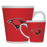 Full Color Latte Mug 12oz-Cardinal Head