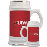 Full Color Decorative Ceramic Mug 22oz-Cardinal Head UIW