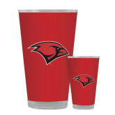 Full Color Glass 17oz-Cardinal Head