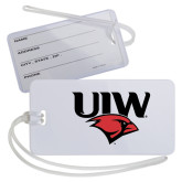 Luggage Tag-UIW Cardinal Head Stacked