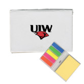 Micro Sticky Book-UIW Cardinal Head Stacked