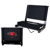 Stadium Chair Black-Cardinal Head