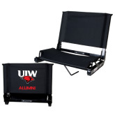 Stadium Chair Black-Alumni