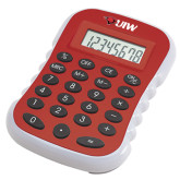 Red Large Calculator-Cardinal Head UIW