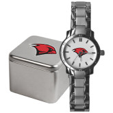 Mens Stainless Steel Fashion Watch-Cardinal Head