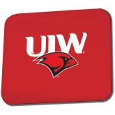 Full Color Mousepad-UIW Cardinal Head Stacked
