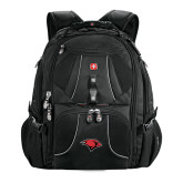 Wenger Swiss Army Mega Black Compu Backpack-Cardinal Head