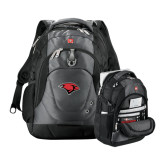 Wenger Swiss Army Tech Charcoal Compu Backpack-Cardinal Head