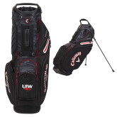 Callaway Hyper Lite 5 Camo Stand Bag-UIW Cardinal Head Stacked