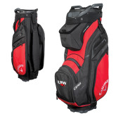 Callaway Org 14 Red Cart Bag-UIW Cardinal Head Stacked