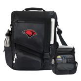 Momentum Black Computer Messenger Bag-Cardinal Head