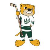 Medium Decal-Mascot, 8in Tall