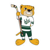 Small Decal-Mascot, 6in Tall