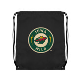 Black Drawstring Backpack-Secondary Mark