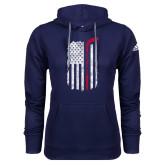 Adidas Climawarm Navy Team Issue Hoodie-Veterans Appreciation
