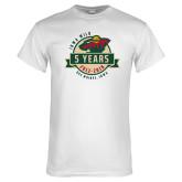 White T Shirt-5 Years