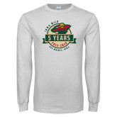 White Long Sleeve T Shirt-5 Years