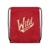 Cardinal Drawstring Backpack-Primary Mark