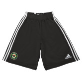 Adidas Climalite Black Practice Short-Secondary Mark