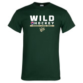 Dark Green T Shirt-Wild Hockey w Primary Mark
