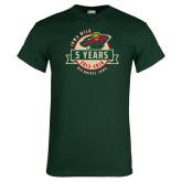 Dark Green T Shirt-5 Years