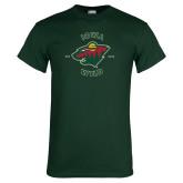 Dark Green T Shirt-Iowa Wild Est. 2013