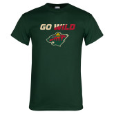 Dark Green T Shirt-Go Wild