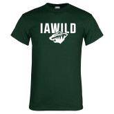 Dark Green T Shirt-IAWILD