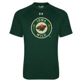 Under Armour Dark Green Tech Tee-Secondary Mark