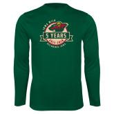 Syntrel Performance Dark Green Longsleeve Shirt-5 Years