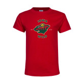 Youth Red T Shirt-Iowa Wild Est. 2013