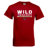 Cardinal T Shirt-Wild Hockey w Primary Mark
