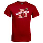 Cardinal T Shirt-Iowa Wild Banner Design