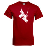 Cardinal T Shirt-Skates