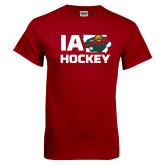 Cardinal T Shirt-IA Hockey w State