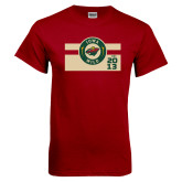 Cardinal T Shirt-Iowa Wild Block Design