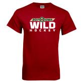 Cardinal T Shirt-Wild Hockey Banner