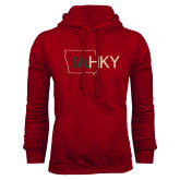 Cardinal Fleece Hoodie-IA HKY