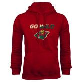 Cardinal Fleece Hoodie-Go Wild