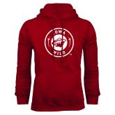 Cardinal Fleece Hoodie-Iowa Wild Seal One Color