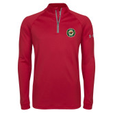 Under Armour Cardinal Tech 1/4 Zip Performance Shirt-Secondary Mark