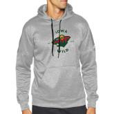 Adidas Grey Team Issue Hoodie-Iowa Wild Est. 2013
