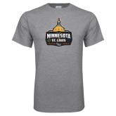 Grey T Shirt-Minnesota vs St Louis
