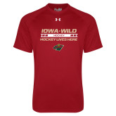 Under Armour Cardinal Tech Tee-Hockey Lives Here