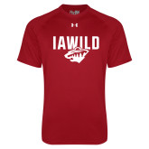 Under Armour Cardinal Tech Tee-IAWILD