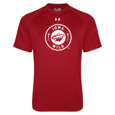 Under Armour Cardinal Tech Tee-Iowa Wild Seal One Color