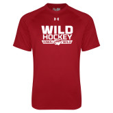 Under Armour Cardinal Tech Tee-Wild Hockey